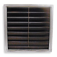 Industrial Cooling Fan Shutters